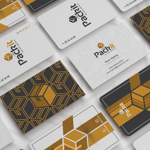 Pack it business & playing cards