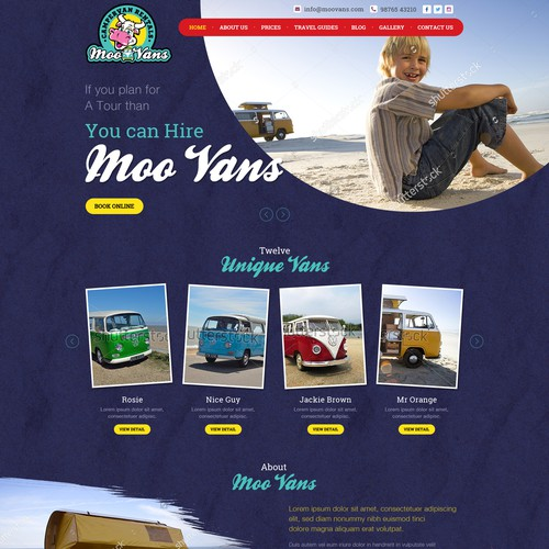 Hire Cool Camper Van