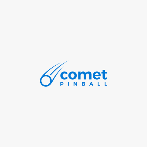 logo for comet pinball