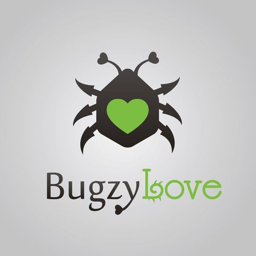 Create the next logo for bugzyLove
