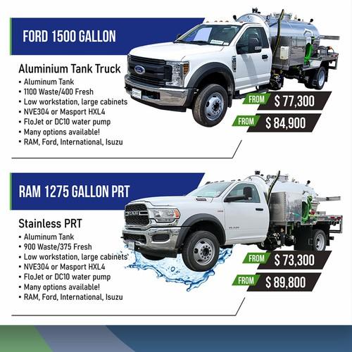 Ads for Vacuum Trucks Company