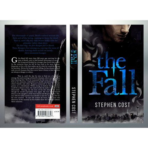 Book jacket, The Fall