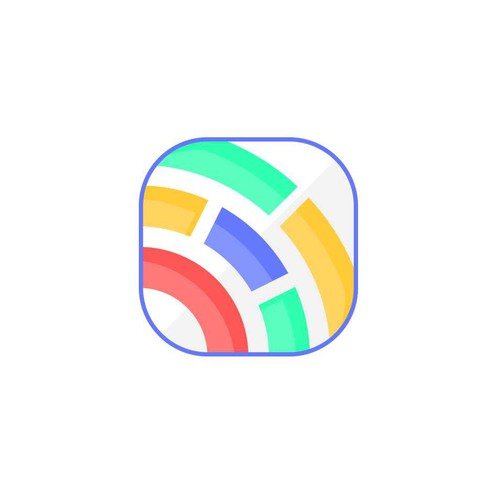 abstract button/icon for n app