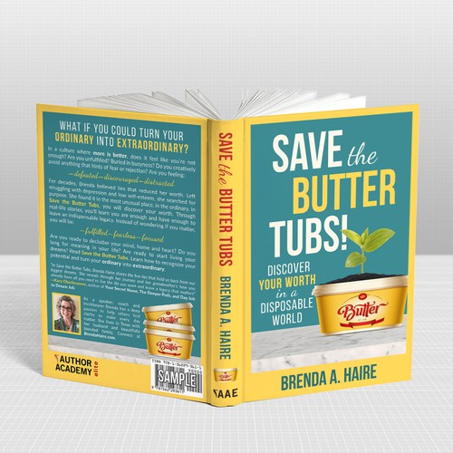 Save the Butter Tubs - Inspirational and Uplifting