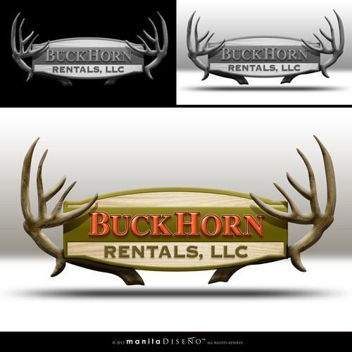 New design wanted for BuckHorn Rentals,LLC and BuckHorn Services,LLC