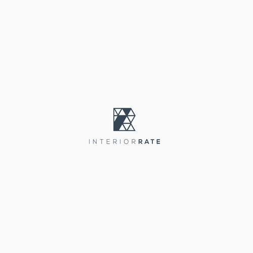 Modern Minimalistic Logo for Interior Design Web Service