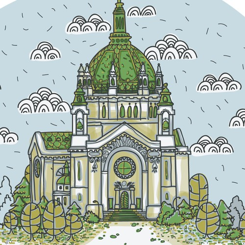 St. Paul MN illustration for a t-shirt