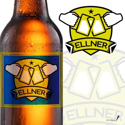 Ellner Logo design