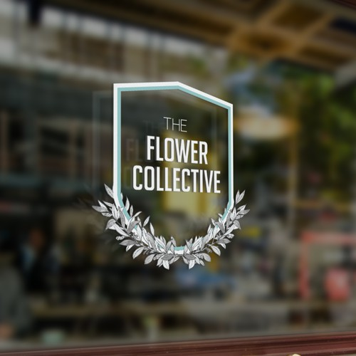 Simple elegant design for The Flower Collective
