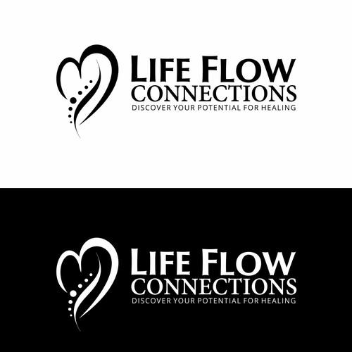 Life Flow Logo Design