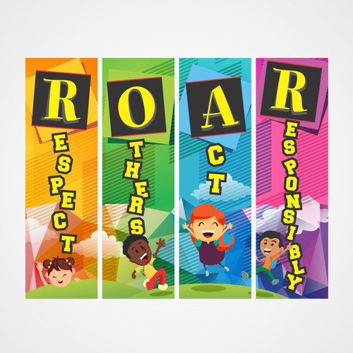 Backdrop Banner for School Show