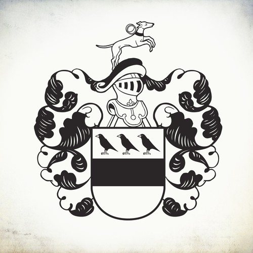 Family crest re design