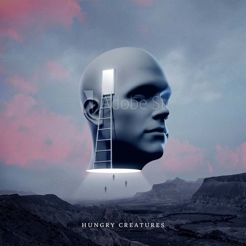 Album cover for acoustic / electronic band - Hungry Creatures