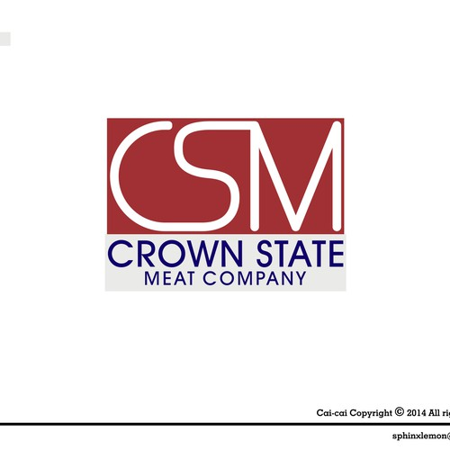 Design a corporate logo for a corporate farming and meat distributioncompany