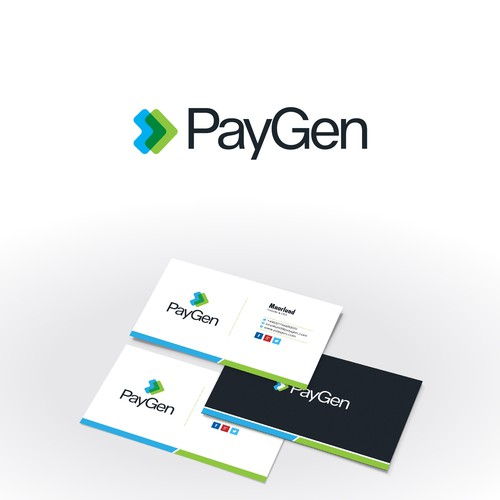 logo design concept for paygen