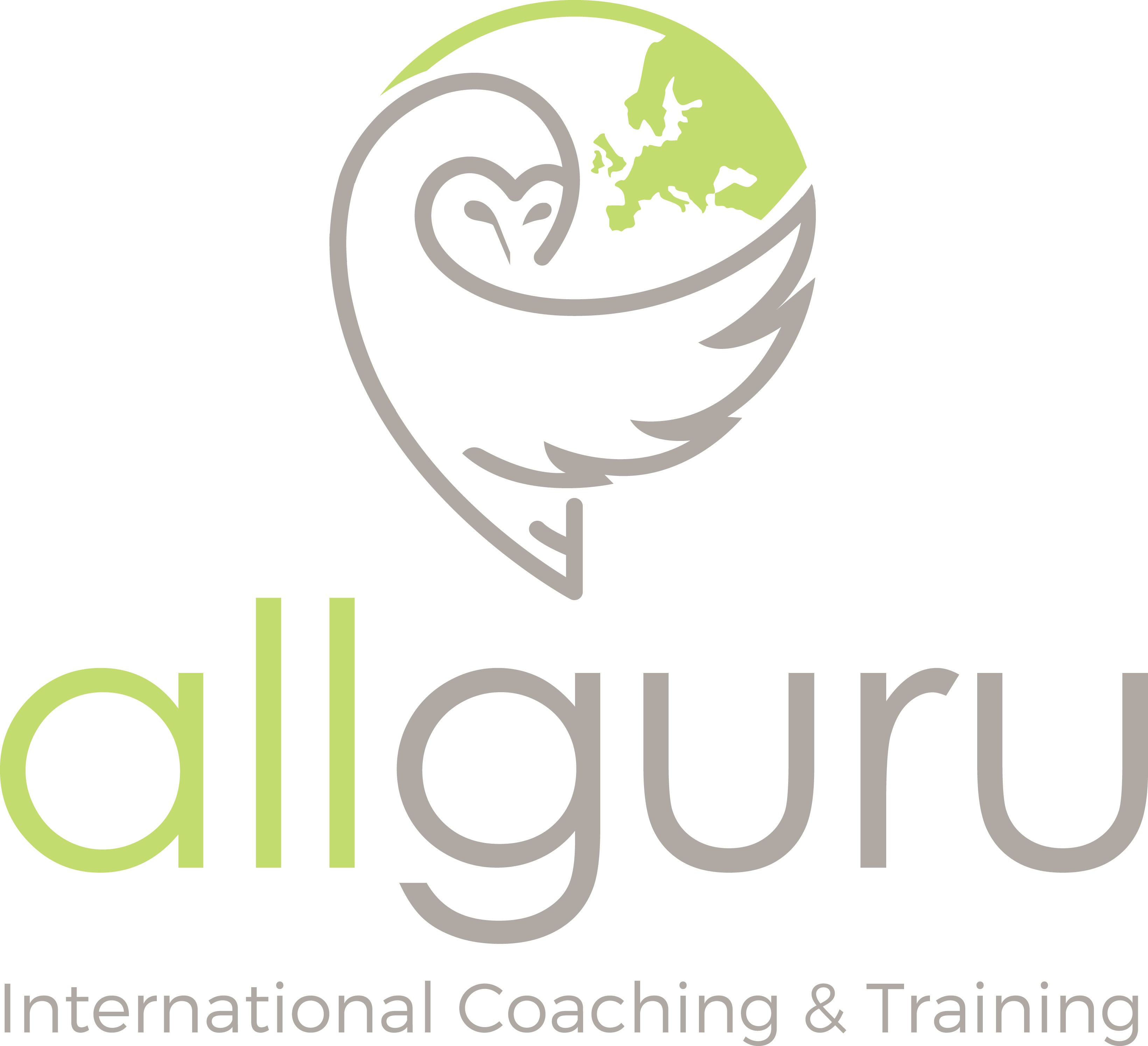 Design a fresh international logo for Allguru- international coaching & training services