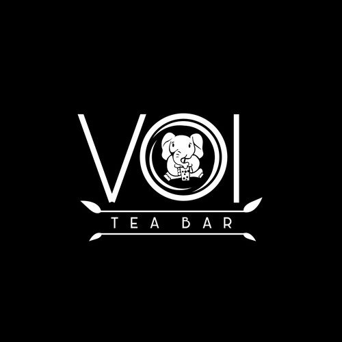 Simple Creative Logo for Tea Bar
