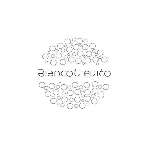 CUSTOM FONT LOGO for a website focused on Patisserie and Sourdough