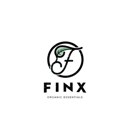 Organic look logo