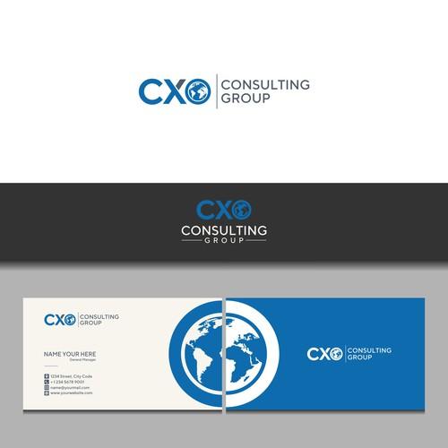 "Sweet ""C Suite"" logo design for CxO"