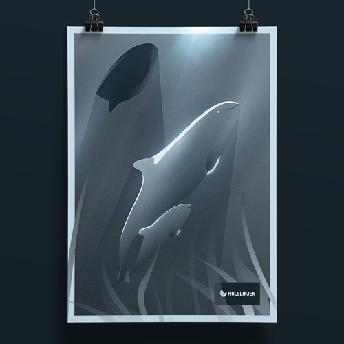 The Harbor Porpoise Poster