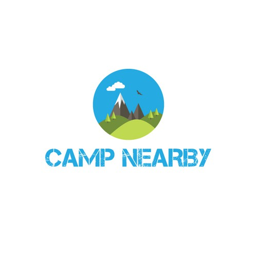 logo for a Camping Website