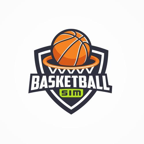 Basketball sim Logo