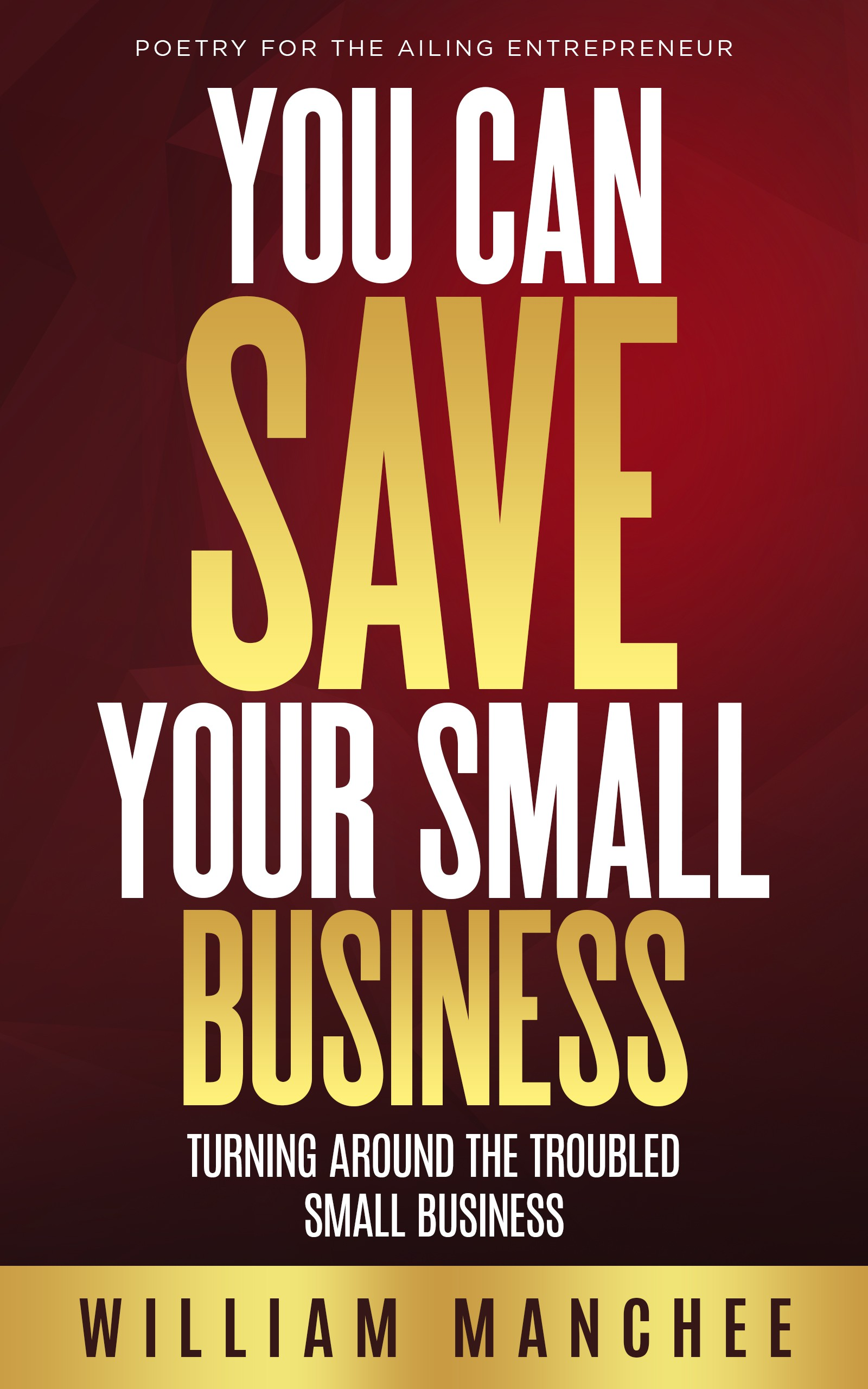 Design Cover for You Can Save Your Small Business