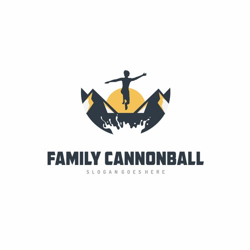 Logo for Family Cannonball