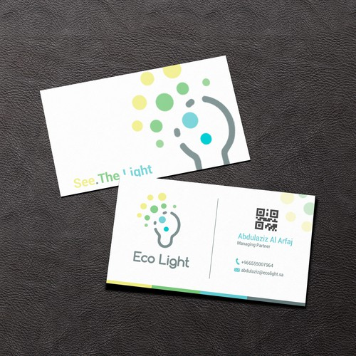 Eco Light business card