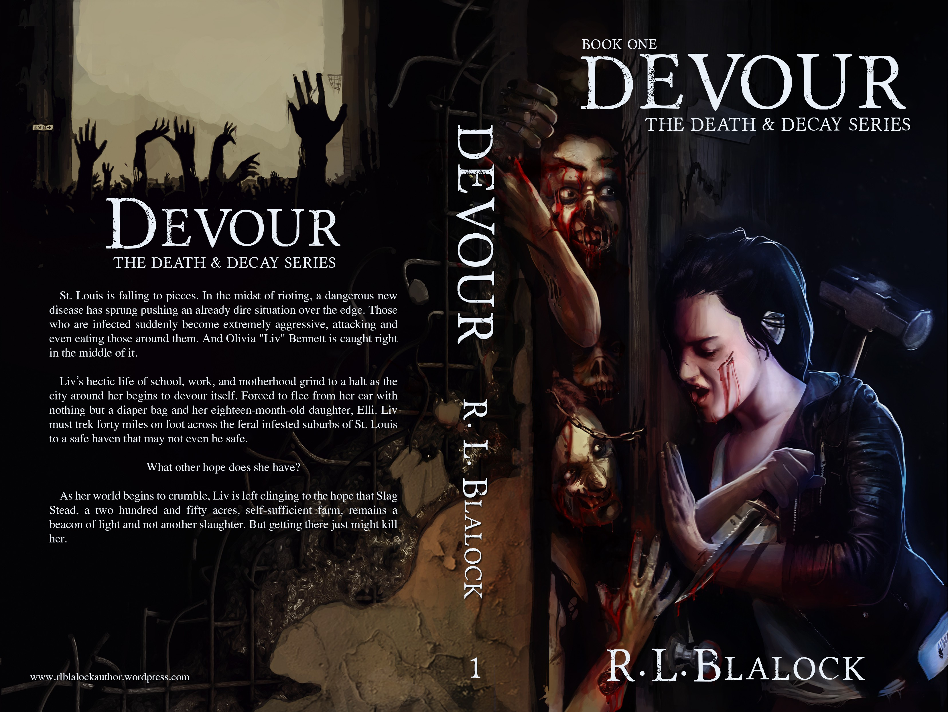 Need an amazing cover for zombie book. First in the series!