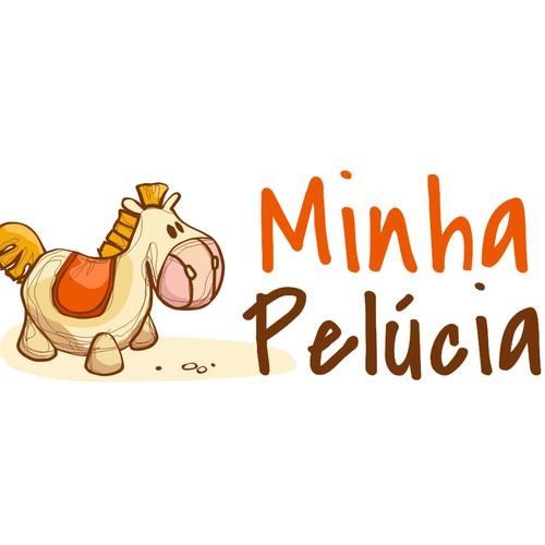 Create the next logo for Minha Pelúcia