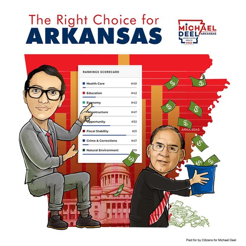 Deel - Boozman Contest US Senate Campaign