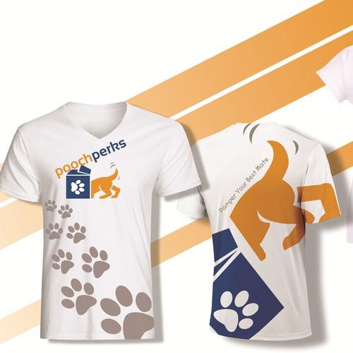 Design an amazing shirt for an online dog business