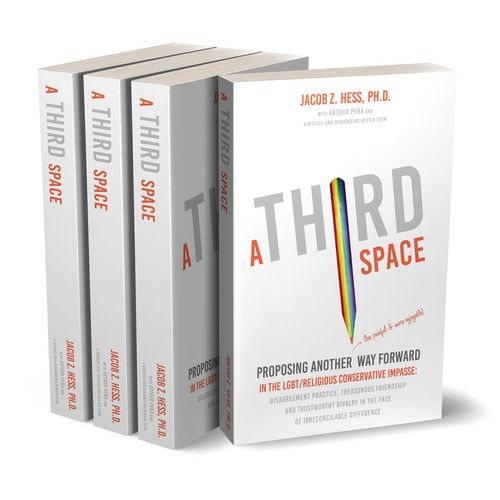 """Book cover for """"A Third Space"""""""