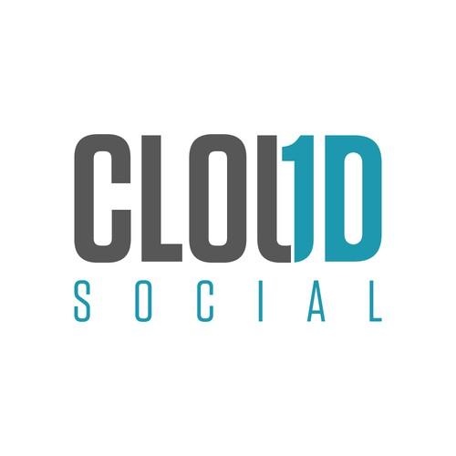 Logo for a social media marketing company