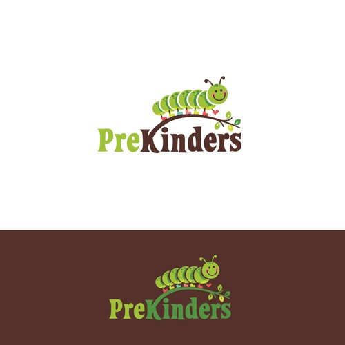 Logo design for Prekinders-PreKinders is a website that shares ideas (lessons, activities) for pre-k teachers. Teachers are the audience. They teach kids ages 4-5.