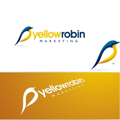 Logo design for Yellow Robin
