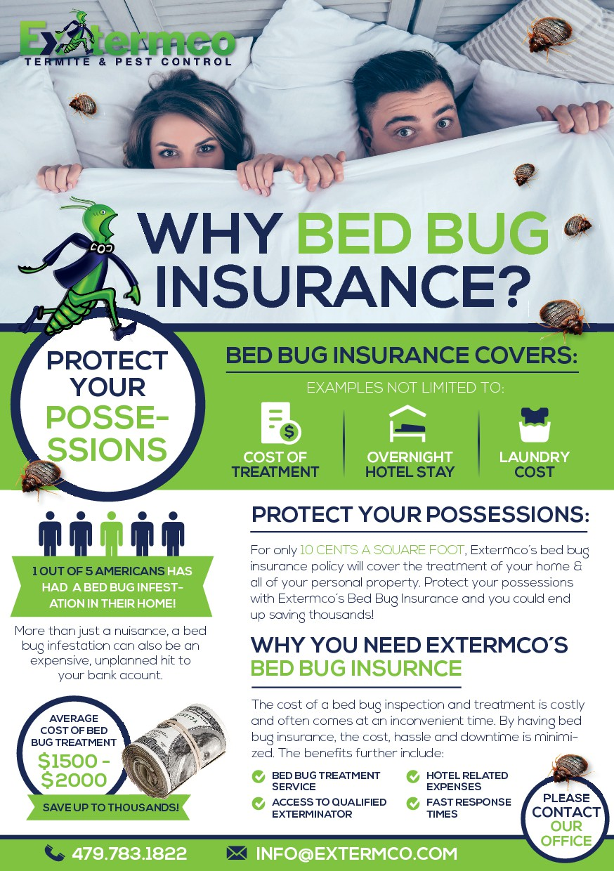 The world's first BED BUG INSURANCE