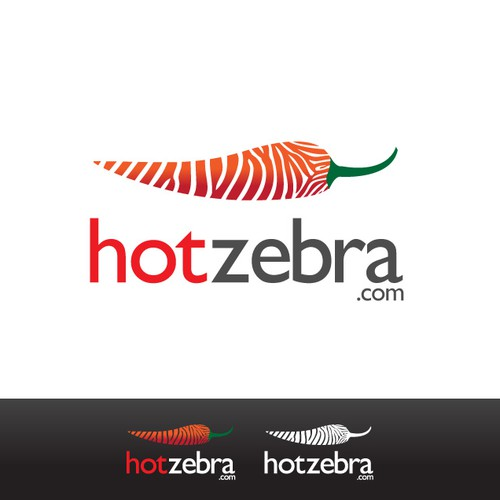"""Hot Zebra"" web service logo"