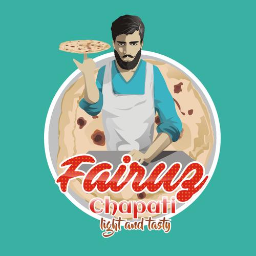 fairuz chapati logo design ..