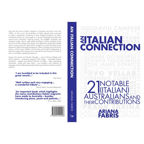 An Italian Connection: book cover design
