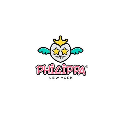 Fun logo for PHILIPPA