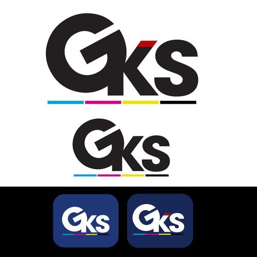 Logo for GKS company