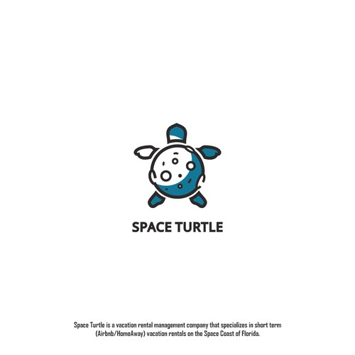 Logo design for Space Turtle