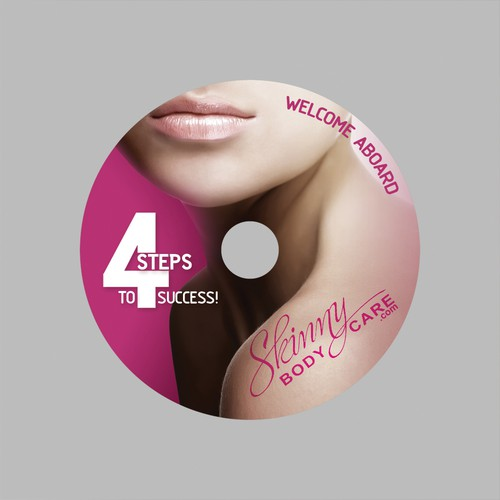CD LABEL DESIGN FOR WEIGHT LOSS COMPANY - NEW