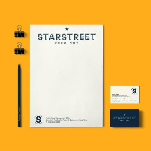 Stationery Collateral for Star Street