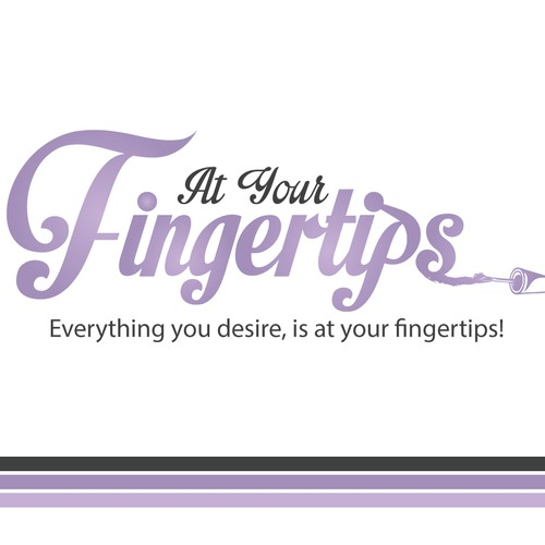 Create a capturing logo for a modern nail salon, show us what you've got!