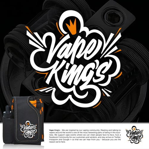 Logo concept for Vape King