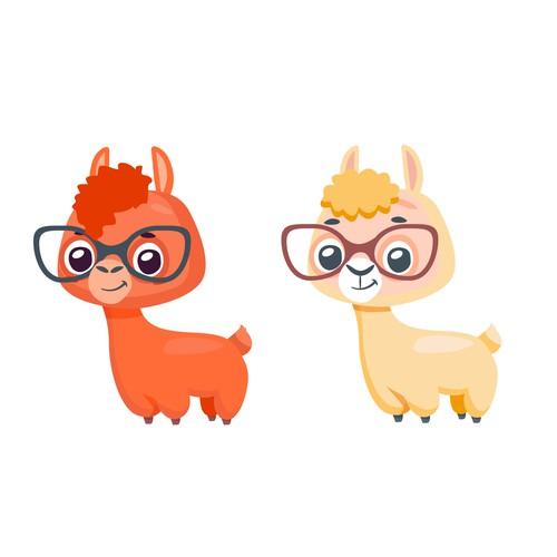 Alpaca character design